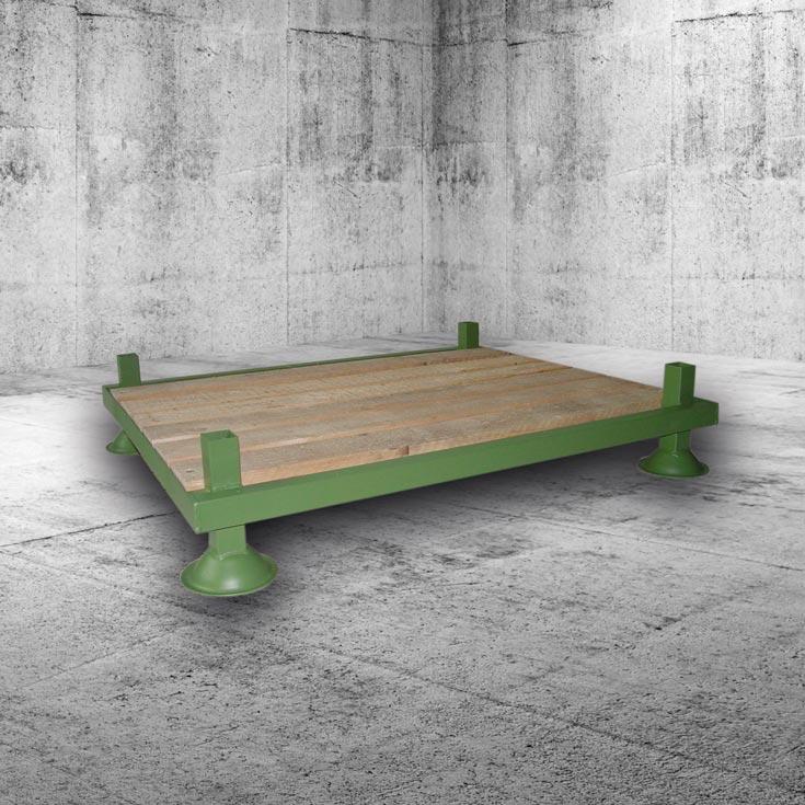 Rungengestell Mit Holzboden